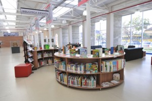 Espaço Infantil na Biblioteca Nelson Foot