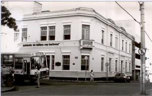 Foto antiga do Gabinete de Leitura Ruy Barbosa