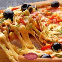 Deliciosas Pizzas no Don Giuseppe