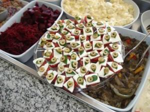 Variedade de Saladas - Dona Dora