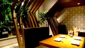 Ambiente Aconchegante no Hoken Sushi