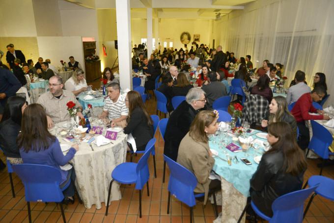 Na festa de lançamento, convidados degustaram alguns pratos do evento