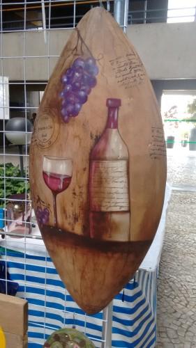Quadro do vinho