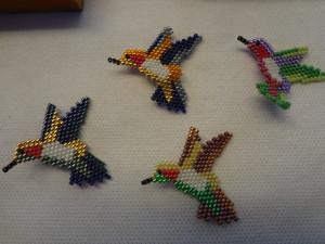Broches de Pássaros