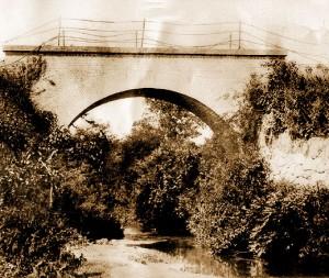 Ponte Torta em 1900