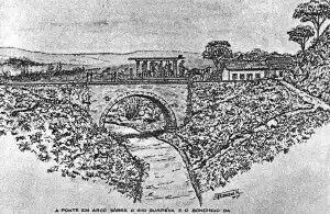Desenho Original da Ponte Torta