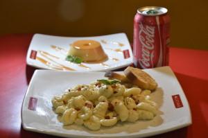 ComboPonte Torta com Gnocchi à Carbonara - Exclusividade Spoleto Jundiaí