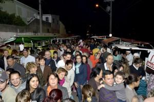 Grande público prestigiando o Varejão Noturno do Eloy Chaves