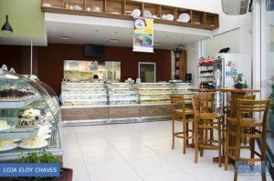 Área interna da loja