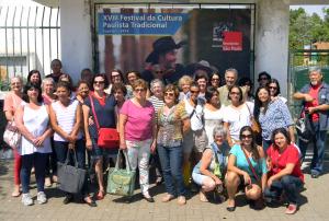 A delegação de Jundiaí no evento estadual de cultura