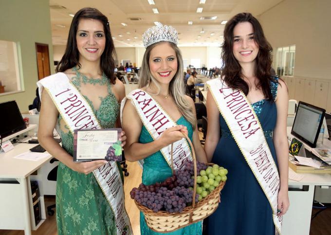 Corte de 2014: missão principal é divulgar a Festa da Uva
