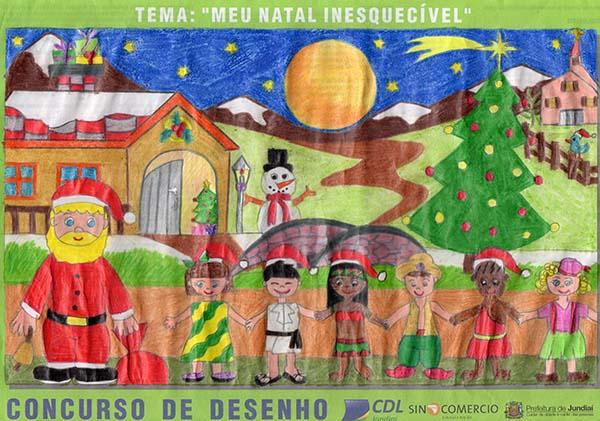 Desenho vencedor: pintura de Stephany Fernanda dos Santos, 9 anos, foi selecionada entre as 7 mil inscritas