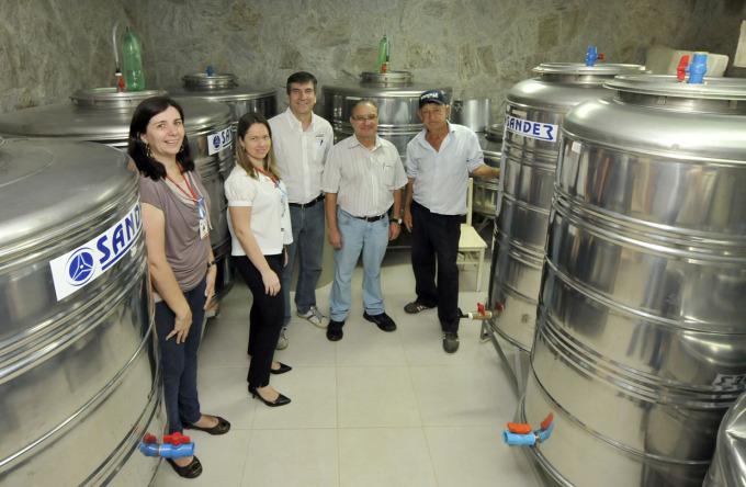 Visita técnica na adega: reforço ao turismo rural
