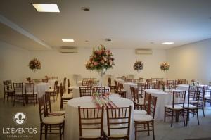Salão decorado - Spazio Massimo
