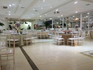 Salão decorado - Espaço Santa Filomena