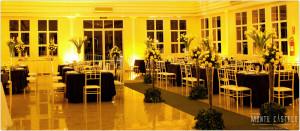 Salão Jequitibá - mesas decoradas