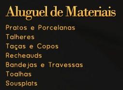 Aluguel de Materiais