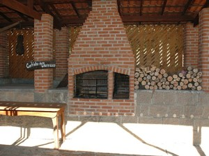 Área da churrasqueira - Casa da Pedra