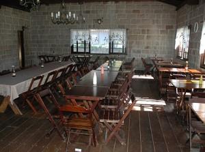 Salão interno - Casa da Pedra