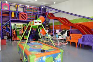 Área infantil do Buffet Infantil Jujuba - Ponte São João
