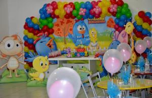Mesa decorada do Buffet Infantil Jujuba - Ponte São João