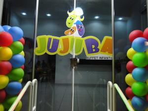 Frente do Buffet Infantil Jujuba - Ponte São João