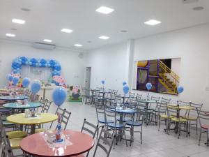 Área interna do Buffet Infantil Jujuba - Ponte São João