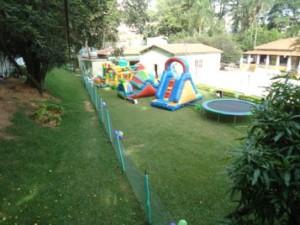 Área infantil ao ar livre