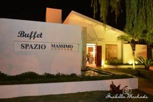 Frente do Buffet - Spazio Massimo
