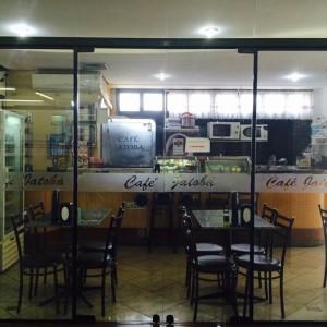 Área interna - Café Jatobá