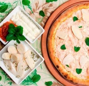 Pizza Creme de Palmito