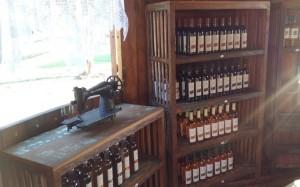Diversas opções de vinho