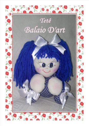 Boneca Azul